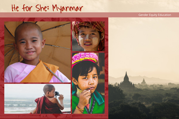 Solution Design Project: He for She Myanmar Preview