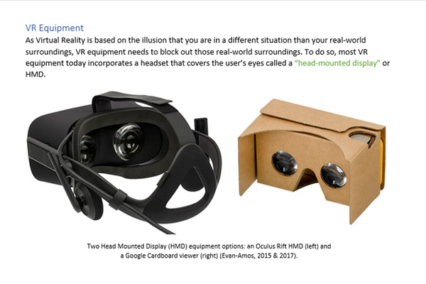 Research Report on Virtual Reality Preview